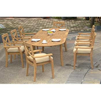Amazon.com: Nueva 7pc grade-a Set- de comedor para ...