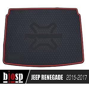 biosp Jeep Renegade 2015 - 2017 Rear Cargo Liners Trunk Mat Car Rear Boot Liner