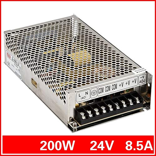 Utini 200 W 24 V 8.3A Output tunggal Switching Power Supply untuk cahaya Strip dipimpin AC ke DC