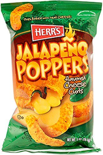 Herr#039s  JALAPENO POPPER CHEESE CURLS Pack of 42 bags