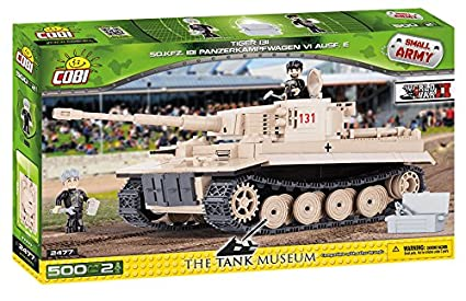 COBI Small Army PZKPFW VI Tiger No 131 Tank