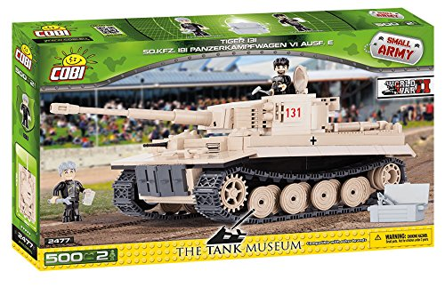 COBI Small Army PZKPFW VI Tiger No 131 - Of Tanks World