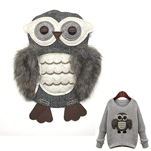 Patches - Cute Owl Patch T Shirt Press