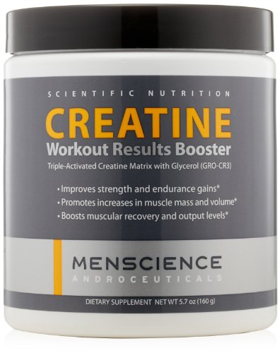 MenScience Androceuticals Creatine Workout Results Booster