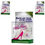 3 Boxes Heels Above Stiletto High Heel Protectors- CLEAR