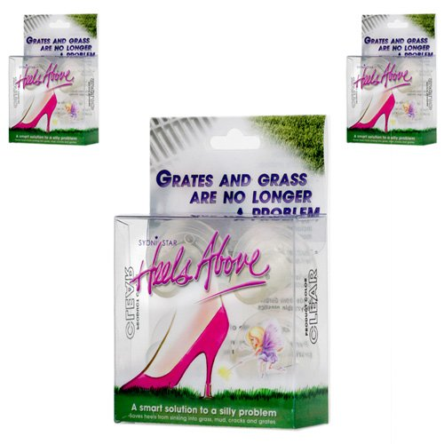 3 Boxes Heels Above High Heel Protectors- Clear by Heels Above
