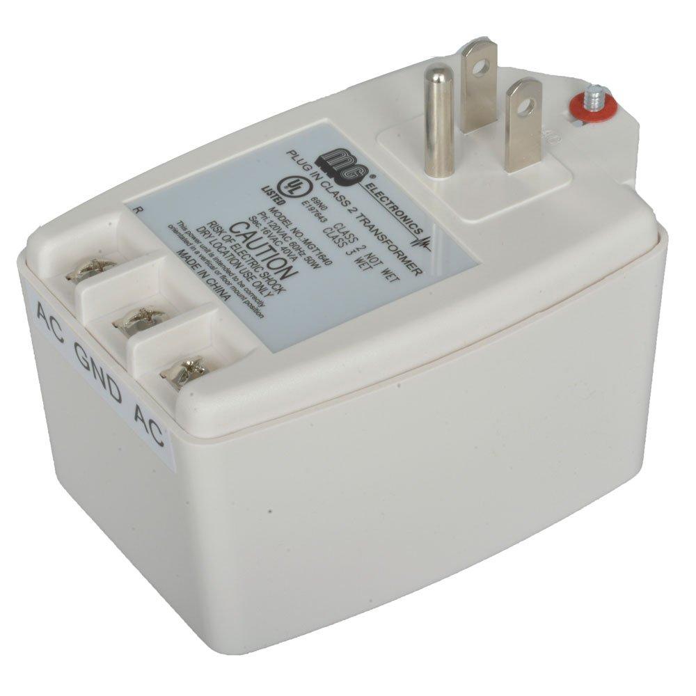 Jameco Reliapro MGT1640 Wall Adapter Transformer, 16.5 VAC, 2400 mA, 40 Watt, 3.2'' H x 2.2'' W x 1.9'' D