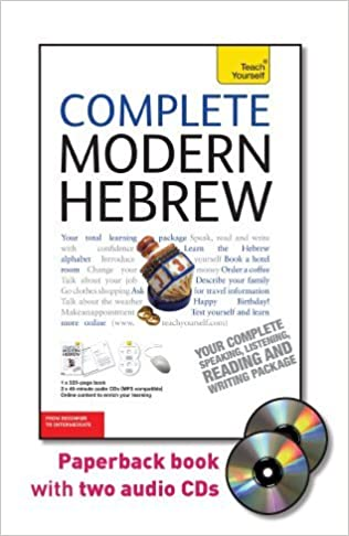 Amazon.com: Complete Modern Hebrew with Two Audio CDs: A Teach ...