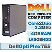 Dell OptiPlex/Intel Core 2 Duo E6550 @ 2.33 GHz/4Gb DDR2/160 Gb/DVD-RW/No OS-(Certified Reconditioned).
