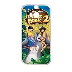 HTC One M8 phone case White Jungle Book QWE7503152
