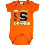 Future Tailgater Syracuse Orange On Game Day Baby Onesie