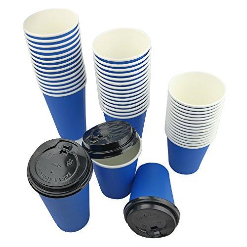 Ggbin Paper Cups Black Lids