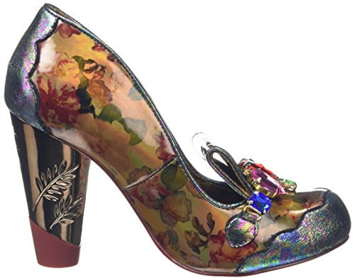 Mujer Choice Ellie Brown Irregular Floral Tacones Marrón Gant Brown wIgWwnqPdx