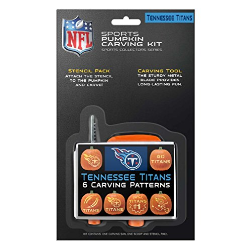 NFL Tennessee Titans Pumpkin Carving -