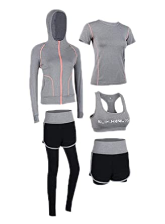 Juego de Gimnasio Running Gym, Juego de chándal para Mujer Traje ...