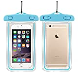 TOTOP 2Pack Waterproof Case - Dry Bag Fits iPhone 6 Plus, 6, 5, Samsung Galaxy s6, s5, Note 4 - Protection For Your Phone
