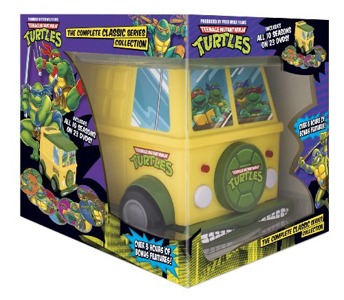 Teenage Mutant Ninja Turtles: The Complete Classic Series Collection by Nickelodeon