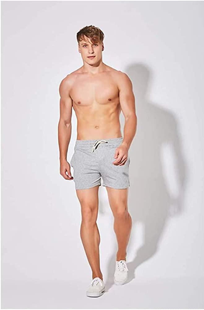 aijieke Mens Pajama Shorts Sweat Running Athletic Short Pants