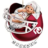 University of Oklahoma Sooners Personalized Baby's First Christmas Ornament by The Bradford Exchange