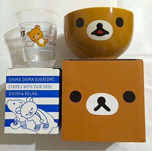 Rilakkuma Lawson limited unwind bowl + Hokka Hokka Tei 2014 hors d