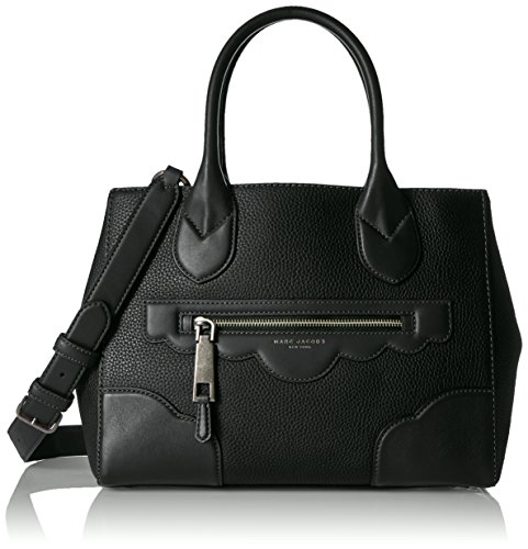 Marc Jacobs Haze Gotham Tote, Black (Marc Jacobs Too Hot To Handle Bucket Bag)