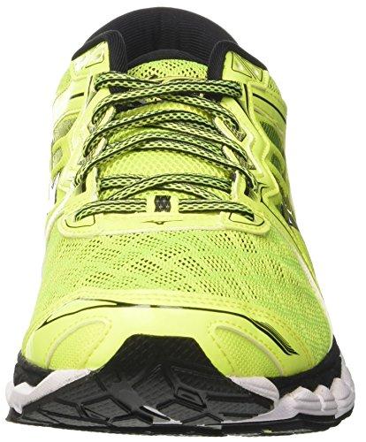 Mizuno Men's Wave Sky Running Shoes Multicolor (Safetyyellowsafetyyellowblack) NaIPb7kqf