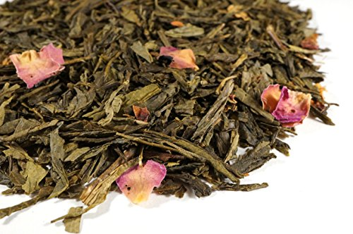 - Cherry Blossom Green Tea Sampler. Gourmet Loose Tea Sample Makes 3-5 Servings. Beantown Tea & Spices Brand. (Cherry Blossom Green Tea)