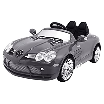 Costzon Lisenced Mercedes-Benz R199 12V Kids Ride On Car Powered Control Vehicle Toy w/MP3 Player