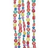 Kurt Adler H1737 9-Foot Plastic Glittered Life Saver, Ball, and Candy Garland