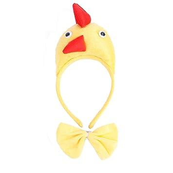 Pollusui Accesorios para Disfraces de Navidad para Perros y Gatos Accesorios para Disfraces de Navidad (Color : Chicken, Size : Adjustable): Amazon.es: ...