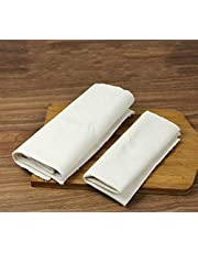 """Large Professional Bakers Dough Couche (35'' × 26'') (14""""x18"""")- 100% Natural Flax Heavy Duty Linen Pastry Proofing Cloth For Baking French Bread Baguettes Loafs"""