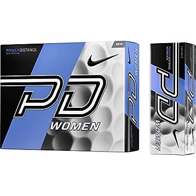 1 Dozen 2015 Nike Power Distance PD9 Women's Golf Balls