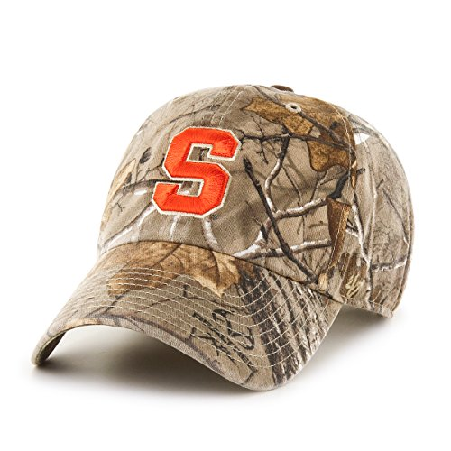 NCAA Syracuse Orange Realtree Clean Up Adjustable Hat, One Size, Realtree Camo