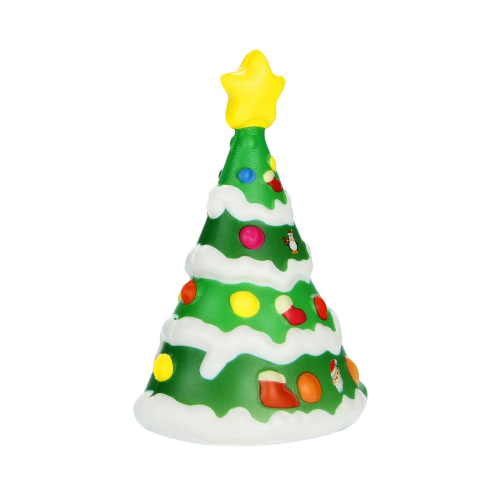 Sansee Kawaii Christmas Tree Soft Scented Squishies Slow Rising ...