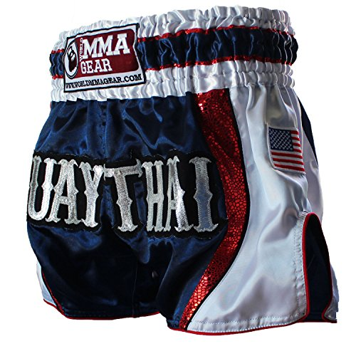 Premium MUAY THAI SHORTS handmade by World MMA Gear, Thai boxing, Kickboxing, MMA