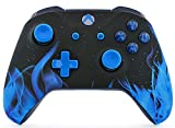 xbox modded controller blue -