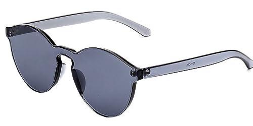 BOZEVON Las Gafas Integradas del ojo del Gato de Eyewear Integraron el Color UV400 del Caramelo de E...