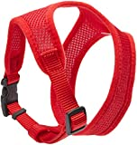 Coastal Pet Products DCP6413RED Nylon Comfort Soft Adjustable Dog Harness, X-Small, Red