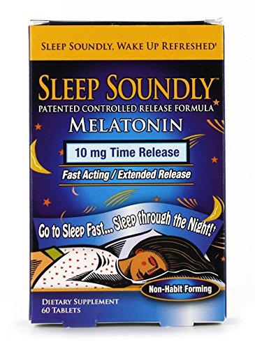 Sleep Soundly Melatonin 10mg Fast Acting Extended