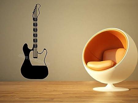 guijiumai Electro Guitarra Etiqueta de la Pared Decoración de la ...