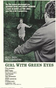 Amazon.com: Niña con Ojos Verdes Cartel Película 11 x 17 ...