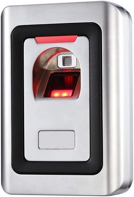敏感な バンダルプルーフオフィスRFID指紋時間出席独立したメタルアクセスコントローラ 正確