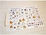 Cute Bunny Rabbit Charactor Sticker Diary Scrap