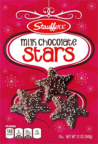 Stauffers Milk Chocolate Stars 12 oz. Box (3 Boxes)