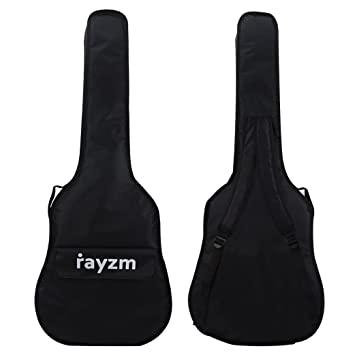 Rayzm Funda para las guitarras eléctricas Strat y tele Style (Para 40