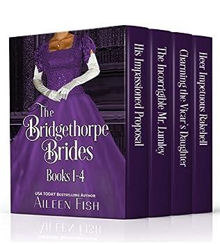 book cover of The Bridgethorpe Brides Books 1-4
