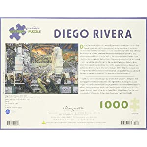 Diego Rivera Detroit Industry North Wall Detail 1933 1000 Piece Puzzle Inglese Giocattolo 15 Ago 2007