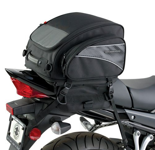 Nelson Rigg CL-1040-TP Expandable Sport Motorcycle Tail (Pack Sportbike Saddlebags)