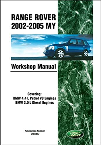 range rover official workshop manual 2002 2003 2004 2005 rover rh amazon com 2004 range rover owners manual pdf 2004 range rover owners manual pdf