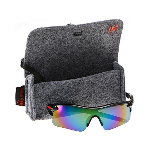 Men's cycling sunglasses black frame colful - Nordstrom Sunglasses Mens